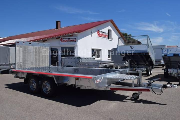 TEMA Baggertransporter Builder III - 350 x 160 cm