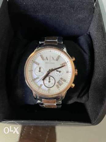 Armani Exchange Watch new never been used with warranty and box