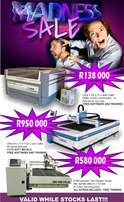 ONE WEEK LEFT ON MADNESS Sales On Laser & Router Cutters