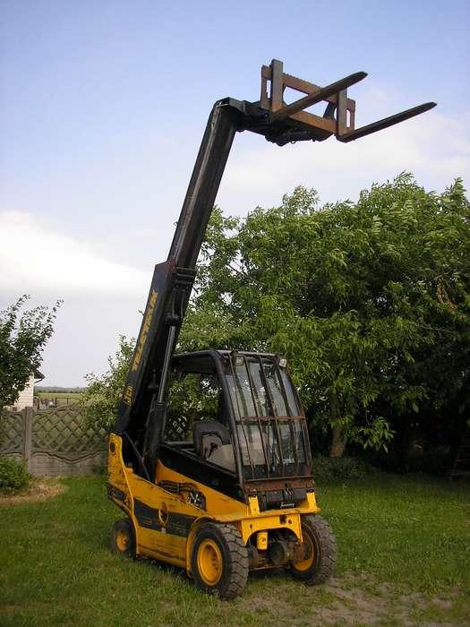 Rewelacyjny Wózek widłowy teleskopowy JCB teletruk TLT 25D na sprzedaż | Tradus EA07