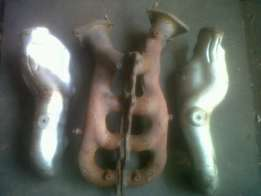 Lexus VVTI Original Cast Exhaust Manifolds with Heat Shield Covers