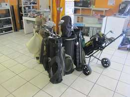 Complete Diffrent Assorted Golf Clubs For Sale
