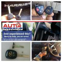 Lost car keys solutions and programming