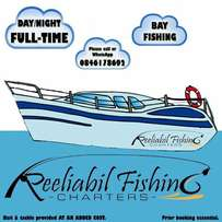 Bay fishing charters now available for day or night bookings