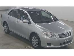 Foreign Used Toyota Axio Silver 2010 For Sale Asking Price 1,250,000/=