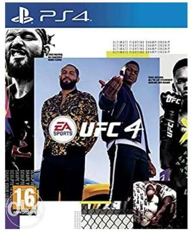 UFC4 for Ps4 game