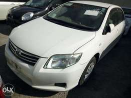 New arrival Toyota Axio Pear White