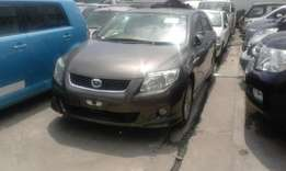 Gray Toyota fielder fully loaded