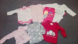 Pre Loved newborn girl winter clothing
