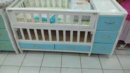 5 drawer Baby cots