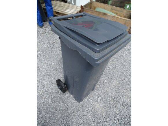 Sale 1 waste container with hinged lid (new) waste container for