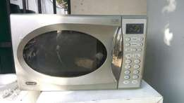 Give away price microwave oven & Grill machine