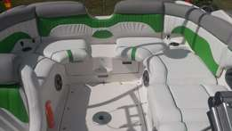 Upholstery for boat and Jetski