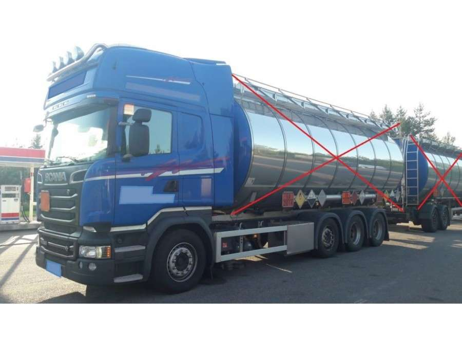 Scania R520 Lb8x2/4hnb Triple - 2014