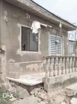 A 2bed room bungalow completed for sale at oduduwa str aboru iyana ipa