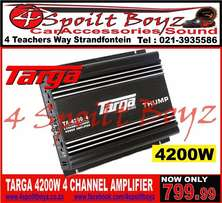 4200W Targa 4Channel Amplifier