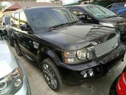 Range rover sports. 2007 model KBX number. Loaded with alloy rims , n