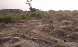 5 plot of land for sale at east Legon hills with walled and gate