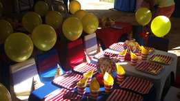 Themed parties and so much more !!