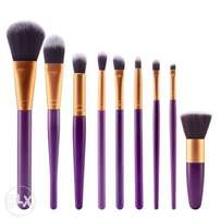 9pcs Makeup Brush Set