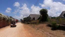 Malindi near cashorina road 1 acrea for sale,this is 100 mtrs from th