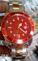 Rolex Submariner Mixed chain_red dial