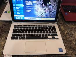 new dell inspiron notebook white