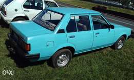 Toyota corolla 1.3l with diff
