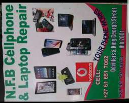 Cell phone and laptop fixer