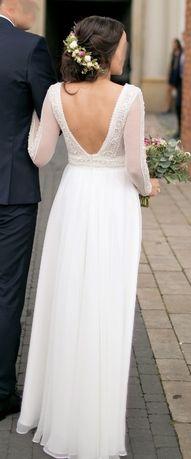 Suknia ślubna Diana Model Gaja Rozcięcie Na Nodze Mielec Olxpl