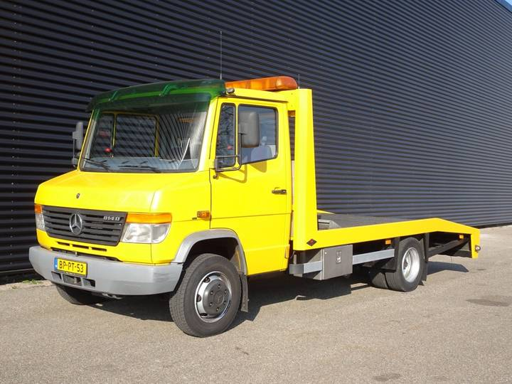 Mercedes-Benz 814D CAR TRANSPORTER / WINCH / 118 DKM! - 2004