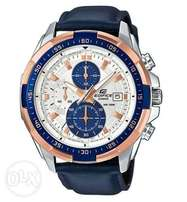 Blue Strapped watch