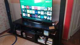 Gorgeous solid hard wood TV stand