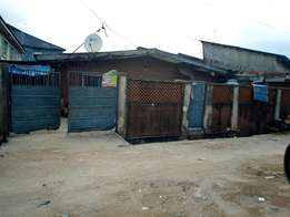 Bungalow (Land) on Odalume Str, Ladipo, oshodi