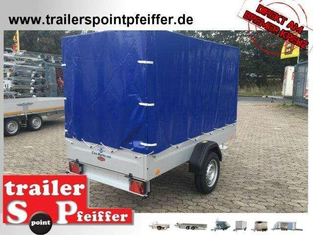 Tpv Trailers Tl Eu3 750 Kg Tieflader Plane 244 X 124 X 150