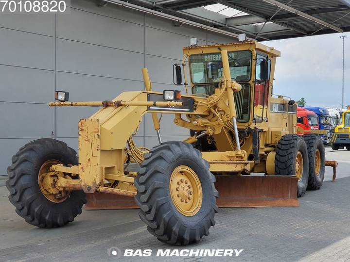 Caterpillar 14H NEW TYRES - 2000