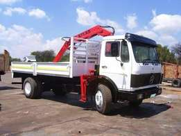 All Truck Size's and Crane For Hire