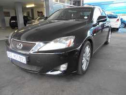 2008 Lexus V6 IS250 for sale R120000