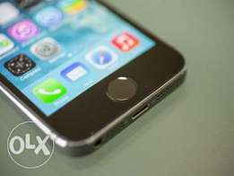IPHONE 5S BLACK 32GB, Perfectly working finger print, Very neat Phone.
