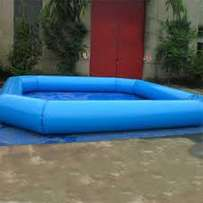 Inflatable swimming pool for hire for sale