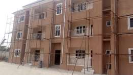 Tastefully 2bedroom flat wit federal Light At East west Rd off NTA Rd