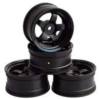 1/10 On-Road Drift Racing Wheel Rim Black