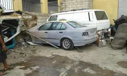 2 E36 bodies still complete stripping for spares