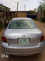 Neatly used Honda accord 2008