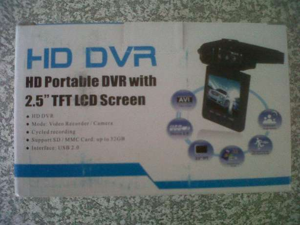 HD Portable Dash Cam DVR with 2.5'' TFT LCD screen (Brand New) Port Elizabeth - image 6