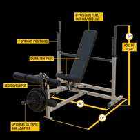 Bodysolid Combo Exercise Bench, with 2 attachments