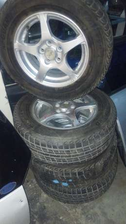 Xjapan rim with new tires 4pcs. Shabab - image 1