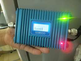GSM network boosters