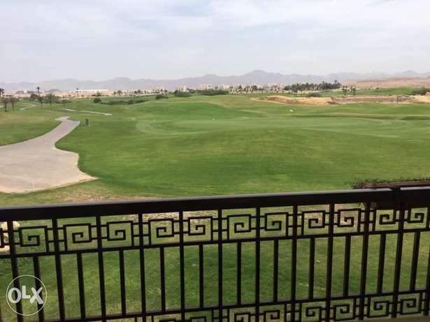 from owner 2bed apartment overlooking the 4th hole at muscat hills