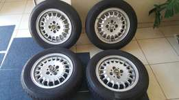 BMW E30 Std Wheels and Tyres
